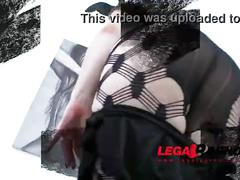 Big butt slut lucy love back to studio: 4on1 mini gangbang & dp sz845
