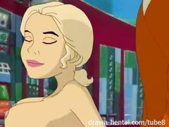 Stripperella porn - bad guys prefer anal
