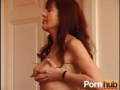 amateur, masturbation, mature, pornhub.com, brunette, euro, hairy, natural-tits, big-tits, solo, masturbating, masturbate, toy, stripping