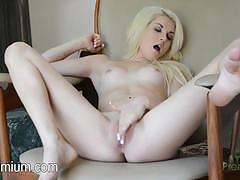 Henley hart plays with her hot wet pussy