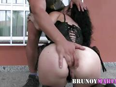 Ella disfruta  asi 100% anal, fisting y squirting, brutal. son amigos