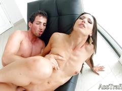 Asstraffic hard anal sex for stunning hottie alexa tomas
