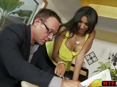 Real bitch sadie santana rides her stepdaddy huge cock