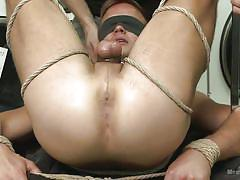 Bound in the laundromat