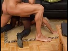 big, cock, granny, german