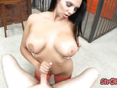 Missy martinez jerks out of prison