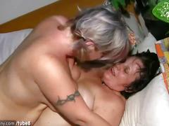 Oldnanny chubby lady and milf masturbate,fuck and play with a toy