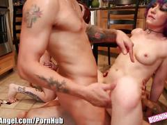 Burningangel spermswap and dp punk orgy