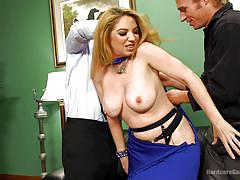 blonde, bondage, bdsm, deepthroat, brutal gangbang, busty milf, mouth fuck, undressing, hardcore gangbang, kink, kiki daire, gage sin, owen gray, mr. pete, john strong, michael vegas