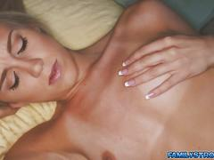 Blonde temptress loves to have spontaneous fun