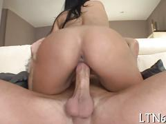 Hot latina with curves all over is a pure fucking machine
