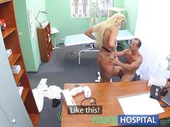amateur, blonde, hardcore, reality, fakehospital, doctor, uniform, nurse, clinic, hospital, cumshot, pov, real-sex, blowjob, raw