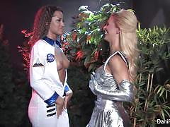 Backstage with dani daniels and cherie deville