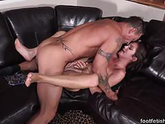 Tempting brunette loves to fuck