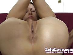 lelu love, anal, solo, bikini, amateur, fetish, homemade, asshole, stripping, striptease, leggings