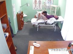 amateur, doctor, hidden cam, babe, big cock, brunette, doggy style, more