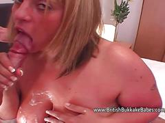 Chubby and fat amateur cumshot compilation