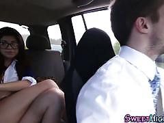 Ava taylor in schoolgirl uniform nailed hard