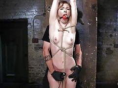 Helpless ella gets bonded and punished