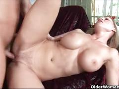 Soccer mom gets fucked hard