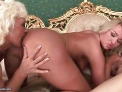 Grannies and young girls nasty lesbian compilation