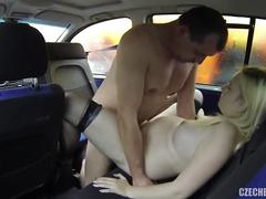 blonde, creampie, reality, cum, czech, pregnant, prostitute, car, taxi, stockings, hooker, pick-up, handjob, pregnant-creampie, big-boobs