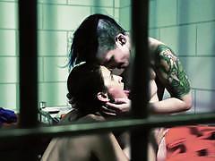 Horny lesbians vanessa veracruz and rizzo ford behind bars