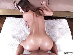 eva lovia, brunette, blowjob, doggystyle, shaved, reverse cowgirl, doggy, natural, shaved pussy, on top, cock suck, dick suck