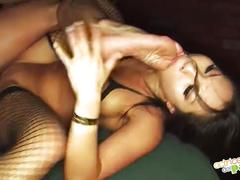 The asian asa akira and toni ribas - full scene - la asiatica - escena completa