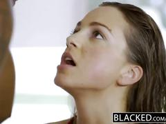 Blacked first interracial for fitness model abigail mac
