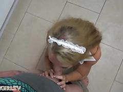 German maid get fucked