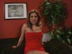 Alexis amore - stocking tease