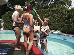 Bella beretta lesbians foursome