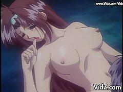 Hot anime girl satomi gets licked and dicked