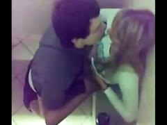 Amateur bathroom fucking compilation
