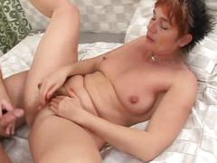 Sexy old mature love hard penetrate