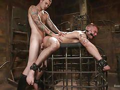 Chris harder gets a pretty darn good pounding