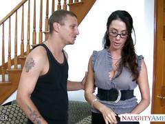 Sex teacher ariella ferrera take cock outdoors
