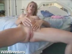 Blonde wife interracial lover