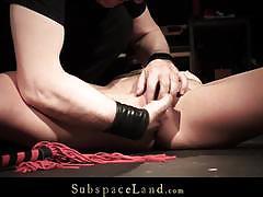Hardcore bondage teasing