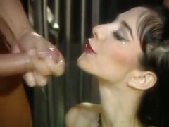 anal, english, brunette, cock sucking, double penetration, group sex, cum on face, kink, mask