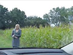 amateur, blonde, public, german, sperma, pussy, blasen, blondine, outdoor, dirty-talk, outside, milf, cock-sucking, oral, blowjob, shaved-pussy, stocking