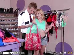 Brazzers - goldie shoplifts and gets punished
