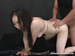 asian, hardcore, bdsm, kinky, japanese, amateur, bound, tied up, rough sex, orgasms