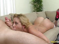 Cherie deville rides cock in heels