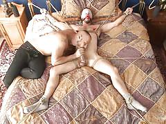 tattoo, blindfolded, gay bdsm, gay handjob, gay blowjob, nipple sucking, gag, nipple clamps, rope bondage, men on edge, kink men, tex davidson