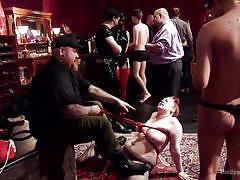 Girls love some pain with wild sex