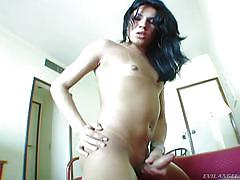 My dick belongs in your mouth @ monster cock she-males #04