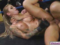 Hot babe kleio valentien craving for huge meaty cock