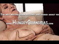 Dirty granny loves black dick